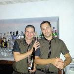 Pavos and Christos: The Best Bartending Team!