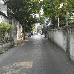 road to main road