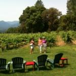 Visiting wineries in the Applegate Valley
