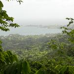 View from the trail of the southern coast