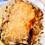 Bistro Karlo's delicious lasagna