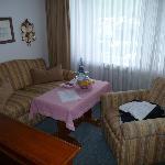 Kamer met zitgedeelte