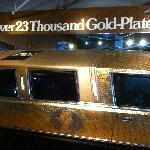 over 23 thousand gold plated coins