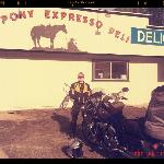 Post breakfast smile at the Pony Express