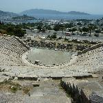 View of Bodrum from the highest seats.