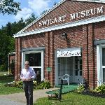 Exterior View of Swigart Museum on Rt. 22, Huntingdon, PA