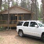 Front of 2 Bedroom Cabin 'Brook'