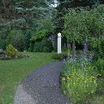 Side walkway towards Inn