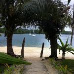 View from main beach