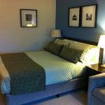 comfy beds...