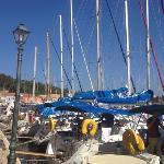 Fiskardo harbour front