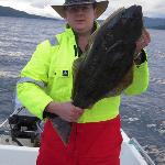 1 of 3 halibut caight on the trip
