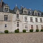 Façade du Château de Beauregard