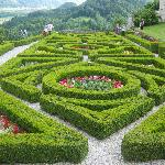 Gardens of the castle