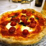 Pizza with Buffalo Mozzarella