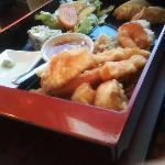 Bento box dinner