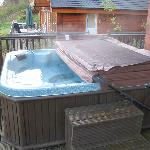 oops, never took a picture of the jacuzzi, so a quick one on departure