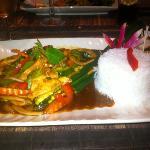 poulet sauté au basilic thai