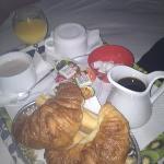 room service petit déj pour 2