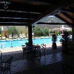 Zona Ristorazione e piscina
