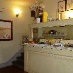 Palazzo San Niccolò-buffet colazione