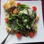 Der unglaublich gute Ceasar Salat