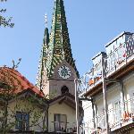NIeuwe gedeelte ligt net achter de kerk