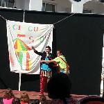 Dia del circo con los animadores