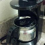 Scary in-room coffee pot