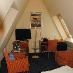 Ulm, Hotel Neuthor, room interior
