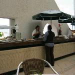 Breakfast buffet. Casa Mmmmmexicana