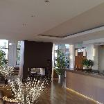 View of reception and the lounge/arrival area