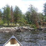 Krragg Island - Easy canoe trip 1/2 hour