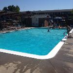 Large pool was very clean and great fun for our three kids.