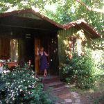 our lovely cabin