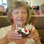 Shirley at DQ. It was wonderful!!!!!!!