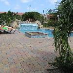 Het mooie zwembad