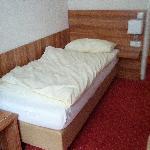 Einbettzimmer: überschaubare Grösse