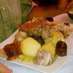 Portuguese boiled dinner