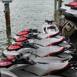 Their Jet ski's.....new and great condition