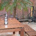 Terraza para fumar