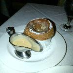 Chocolate & PB souffle