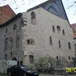 Fachada da Sinagoga de Alte, Erfurt, Alemanha