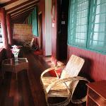 Malagan Beach Hotel - veranda