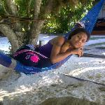 relax on the Malagan Beach Hotel beach