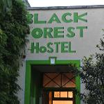 Black Forest Hostel entrance