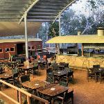 Undara Central - Bar, Restaurant, Coffe Lounge etc. Undara Wilderness Lodge