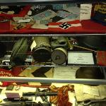 Some of the artifacts on display.
