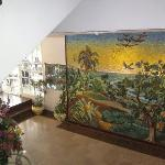 Mosaic in the lobby
