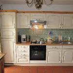 keuken met moderne voorzieningen